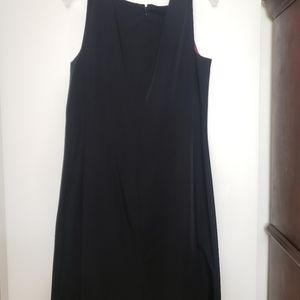 Isaac Mizrahi Dresses - Basic black dress with red lining
